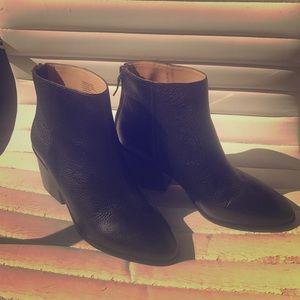 Banana Republic Black leather boots